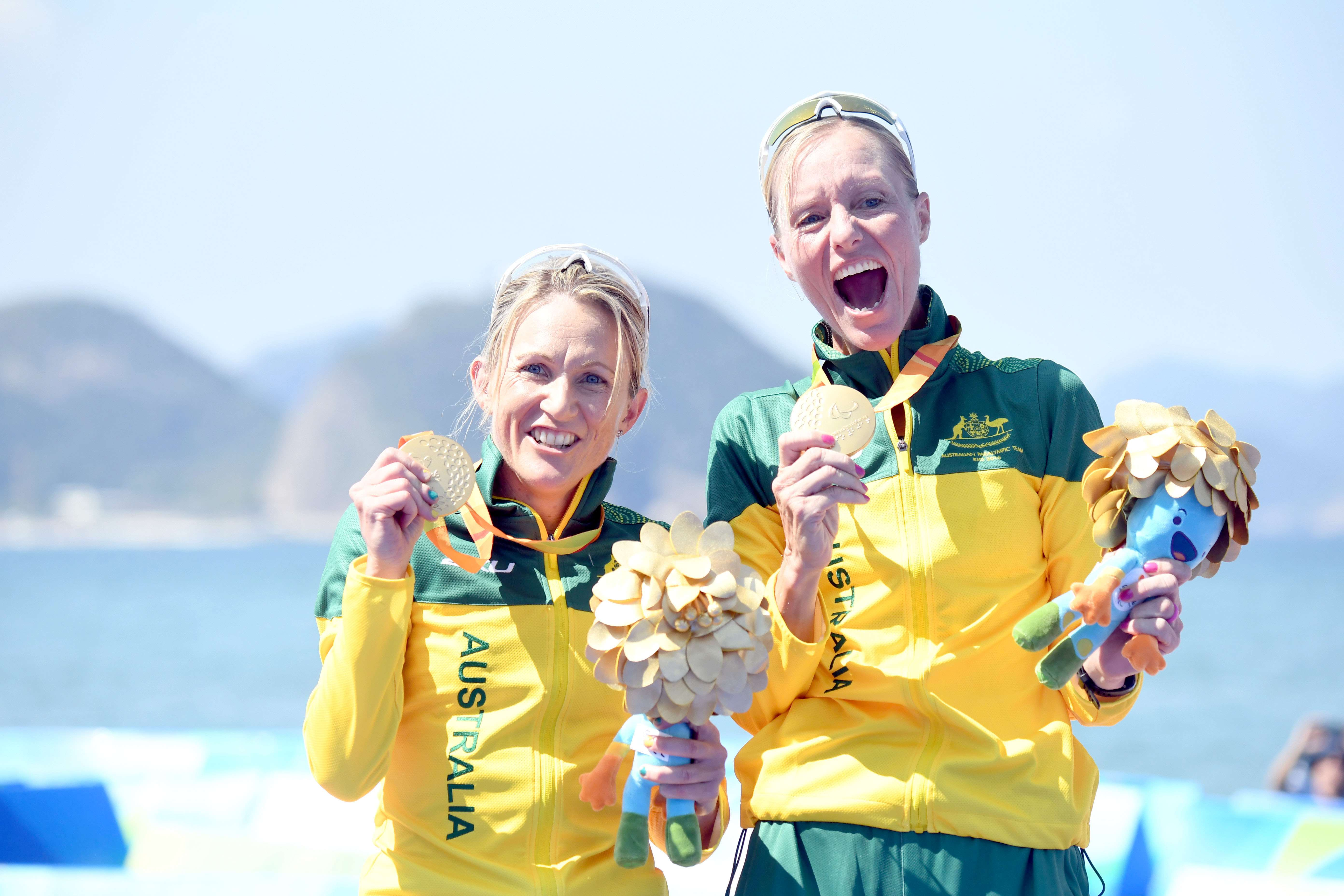 Katie Kelly & Michellie Jones win Paralympic Gold
