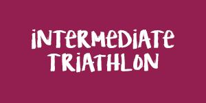 Intermediate Triathlon maroon