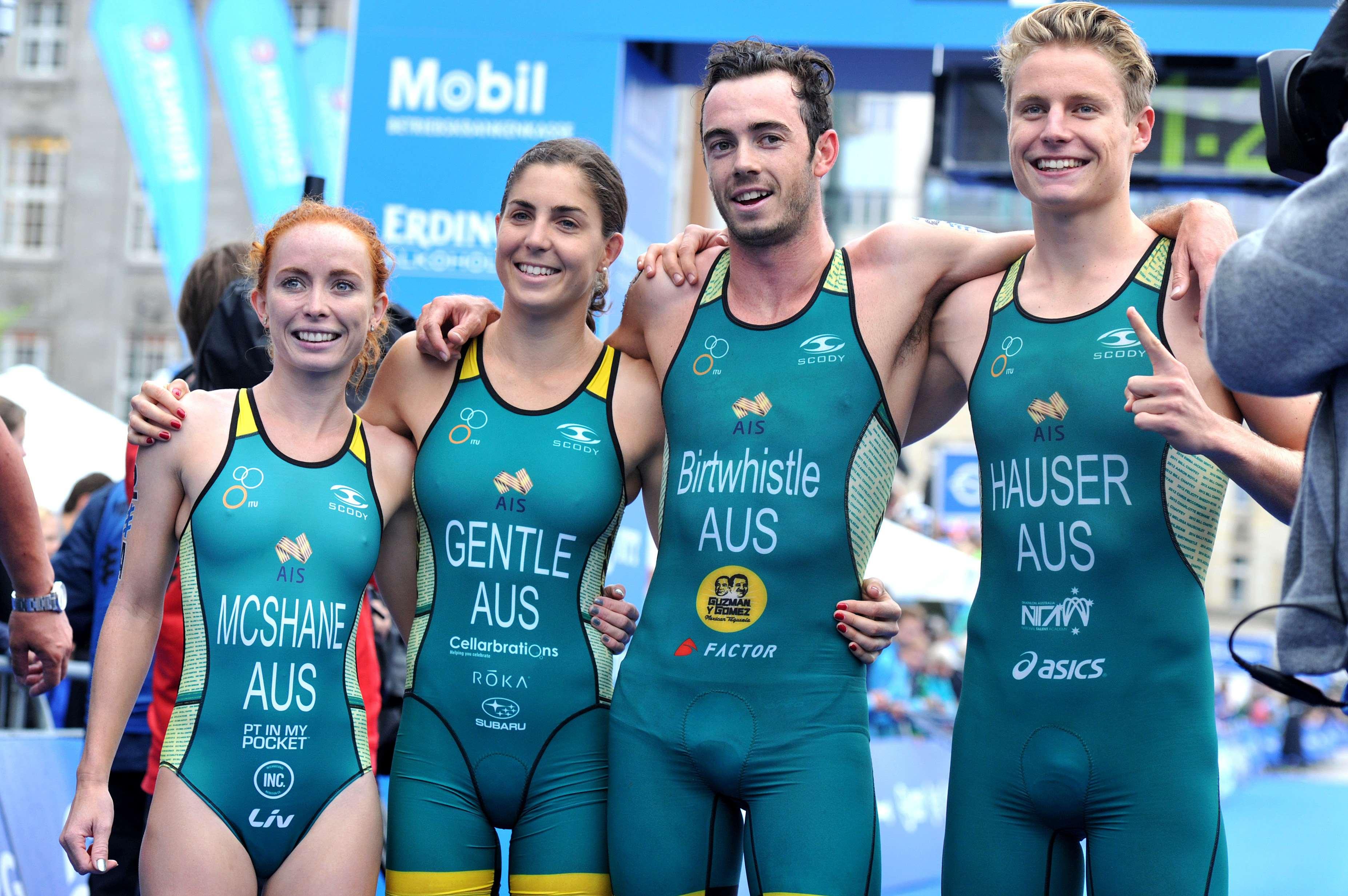 Triathlon Teams Relay World Championship in Hamburg