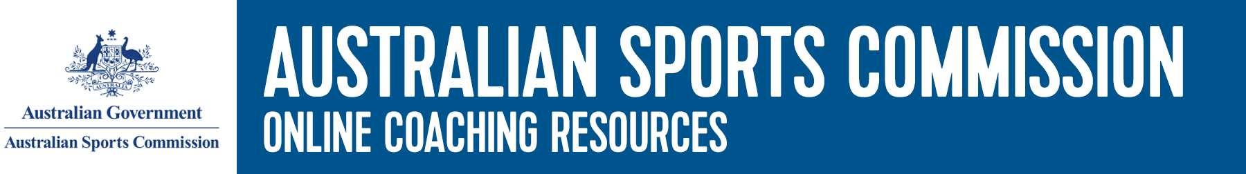 Aus Sports Commission Resources