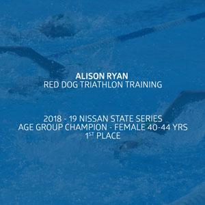 2018-19 Age Group Champ - Alison Ryan
