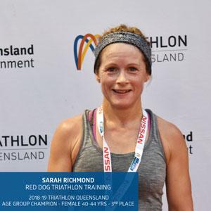 2018-19 Age Group Champ - Sarah Richmond