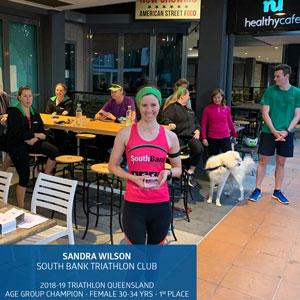 2018-19 Age Group Winners - Sandra Wilson