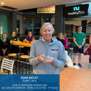 2018-19 Age Group Winners - Diane Batley
