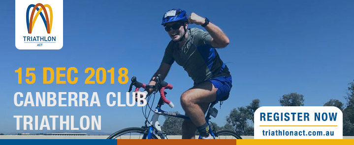 Canberra Club Triathlon Banner 2