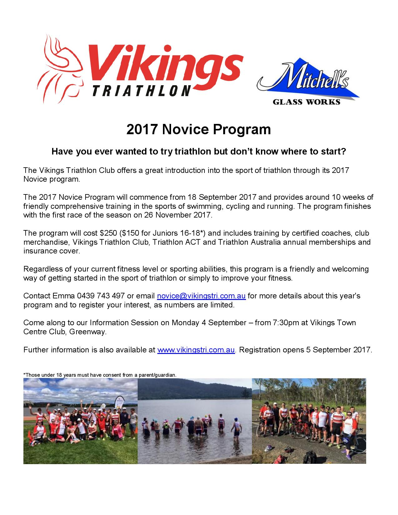Vikings Novice Flyer 2017