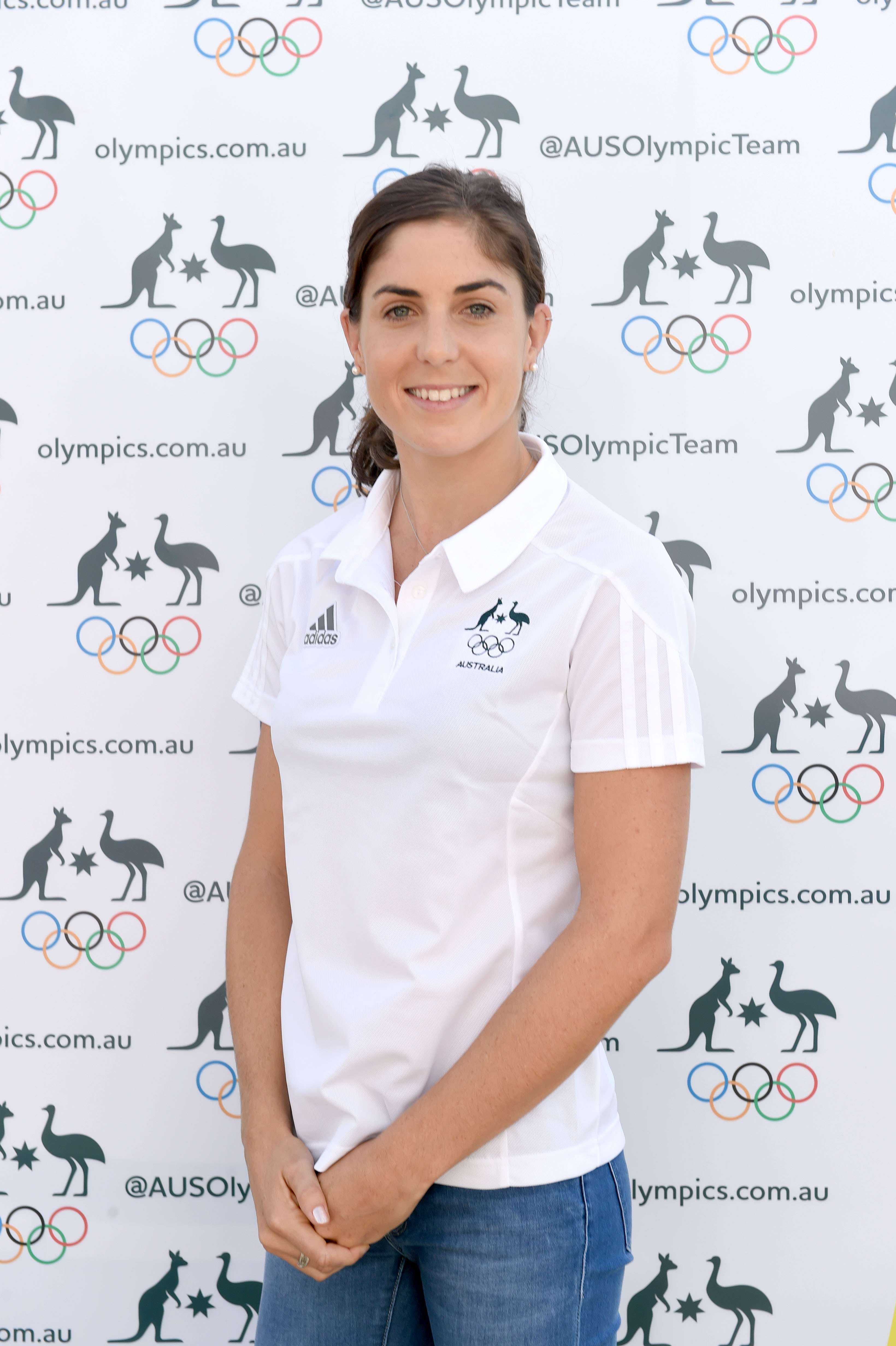 Ashleigh Gentle Olympic launch