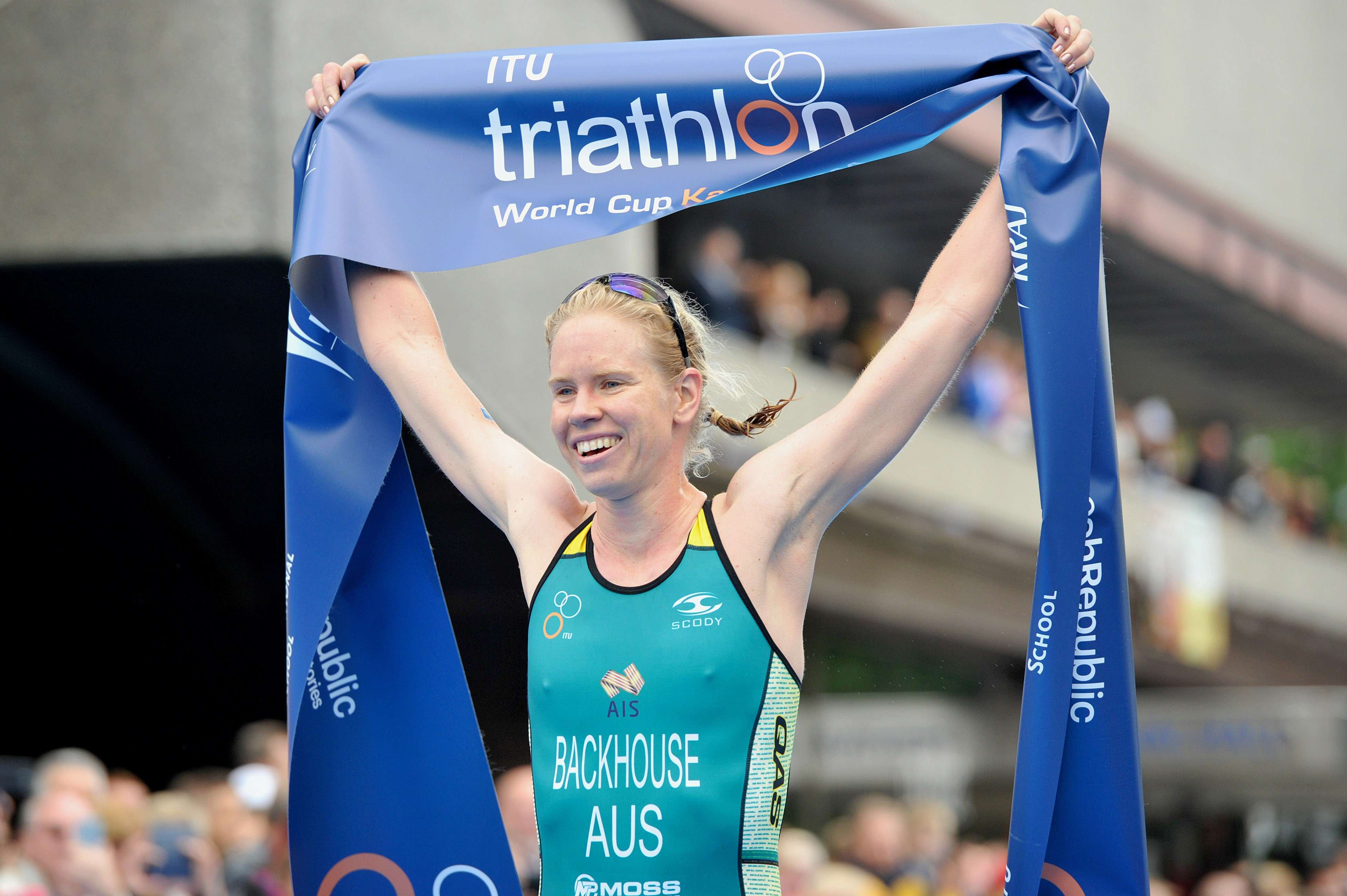 Gillian Backhouse - ITU Karlovy Vary Triathlon World Cup