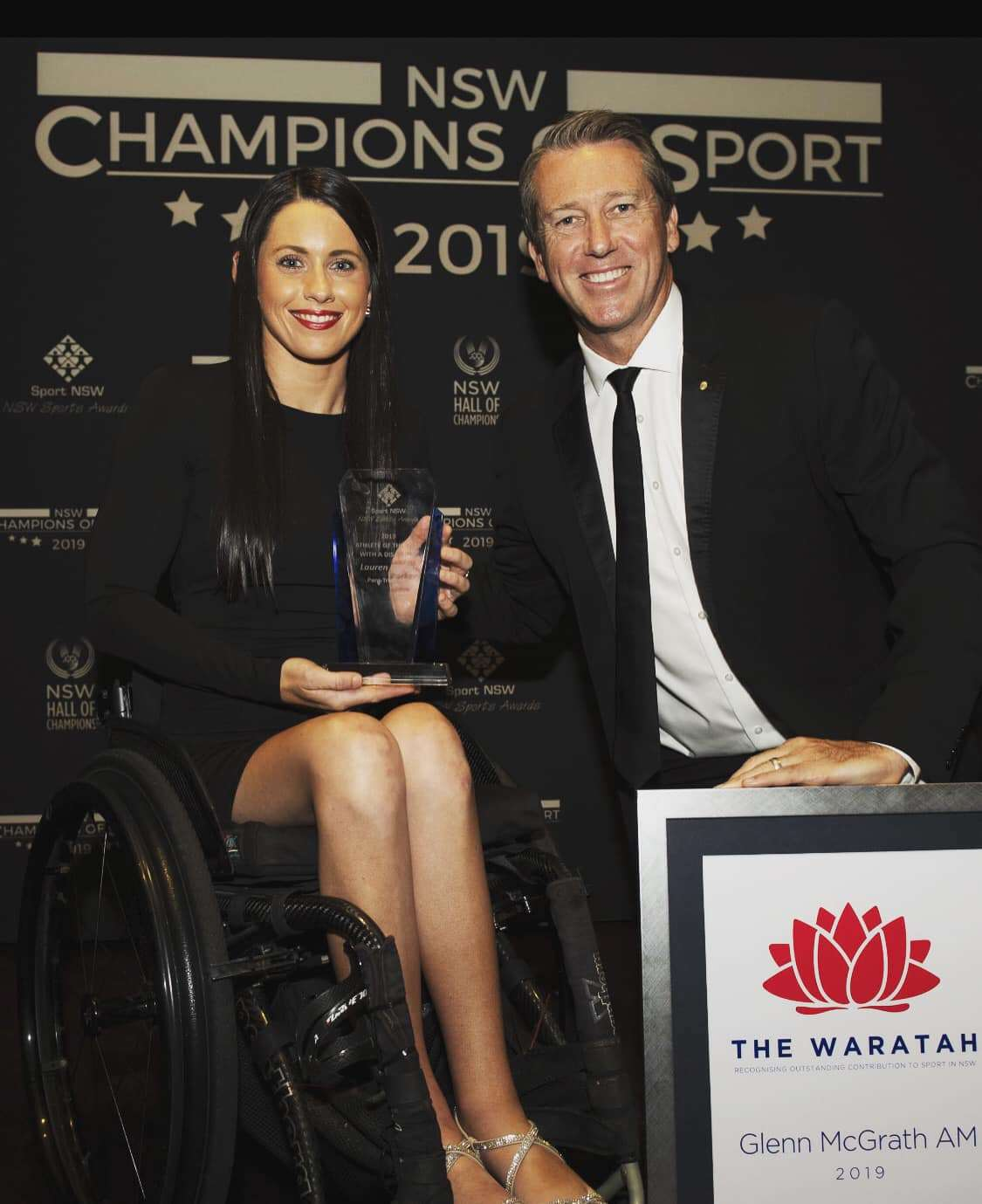 Lauren Parker Wins NSW Sport Awards