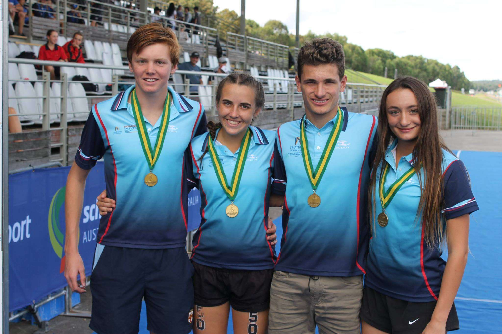 NSW Senior Relay Team - ASTF 2017