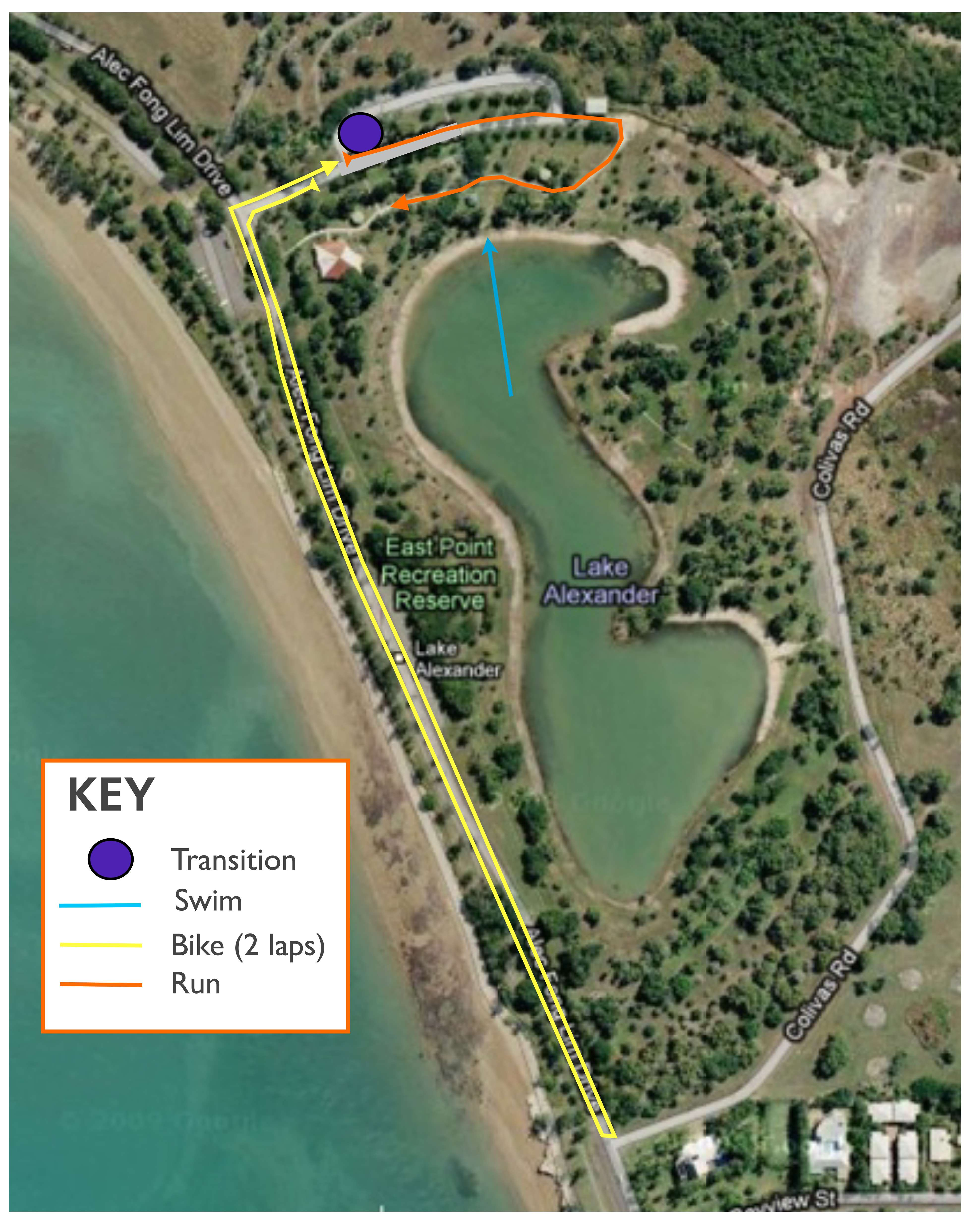 course map - NT Junior Champs 2015