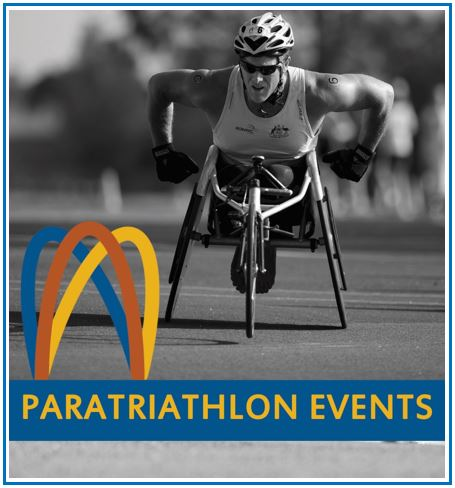 Paratriathlon events button