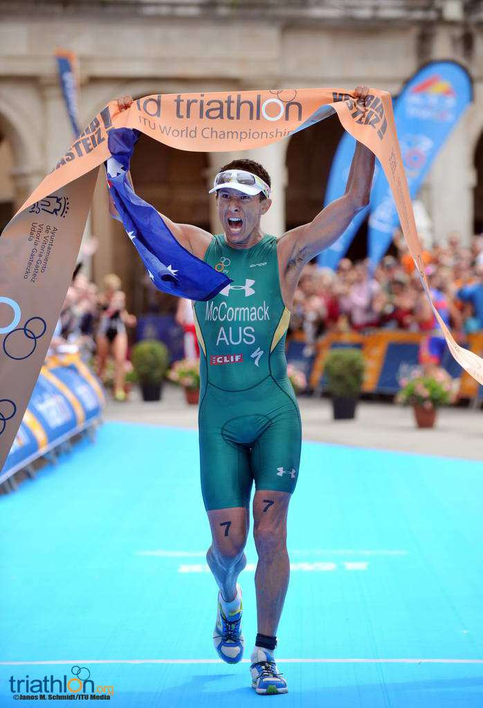 chris mcormack australian triathlete