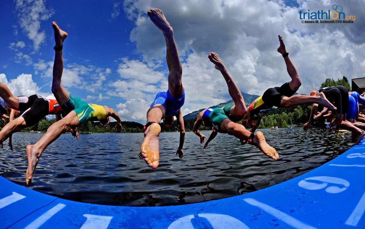 2013 KITZ women's swim start
