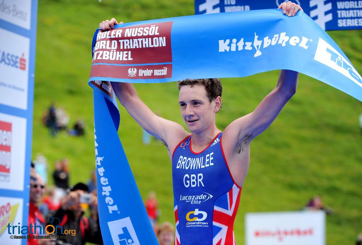 2013 WTS KITZ Brownlee finish