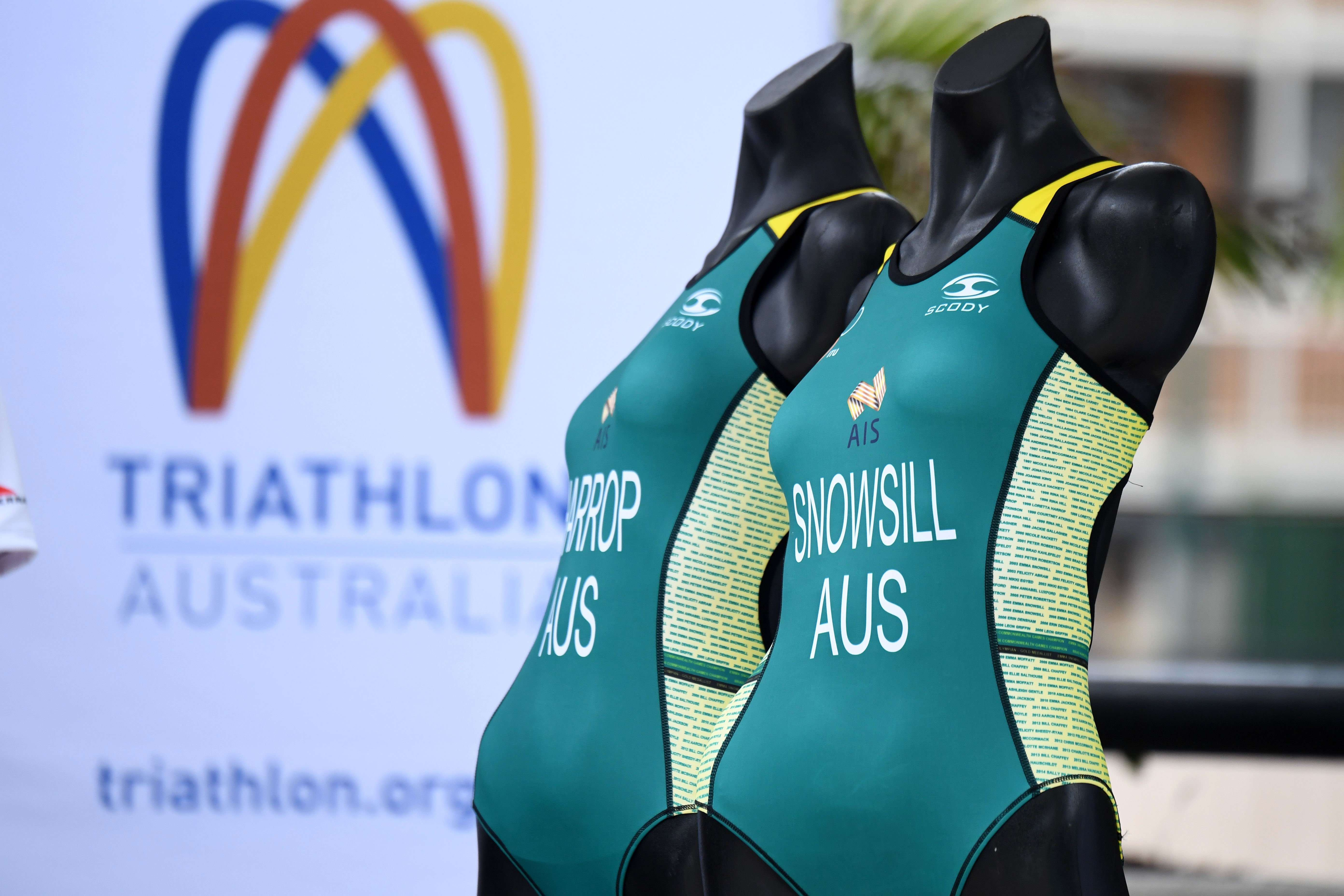 Triathlon Australia Fitting Suits 2017
