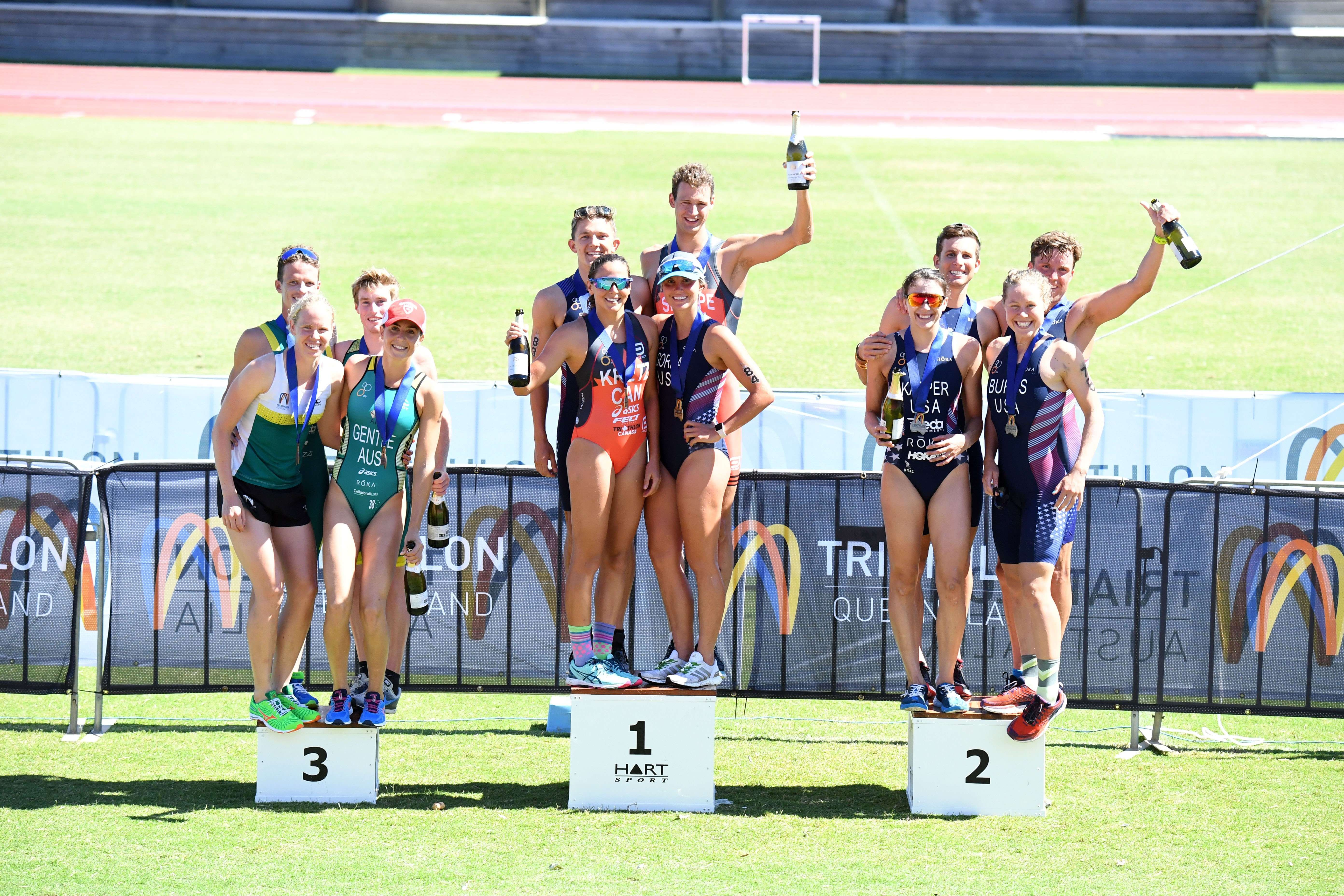 Triathlon Australia Mixed Relay Invitational 2018