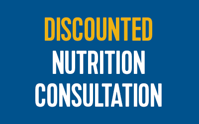 Discounted Nutrition Consult