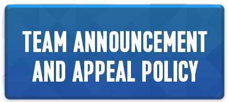 Team Announcement and Appeals Policy Button
